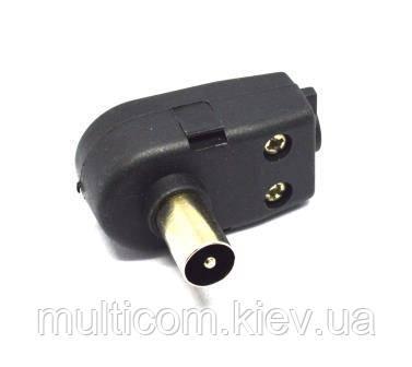 01-09-022. Штекер cимметризатор для блока питания к польской антенне
