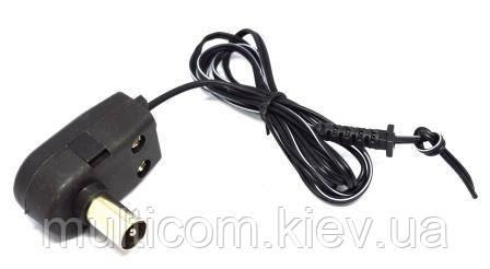 01-09-023. Штекер cимметризатор для блока питания к польской антенне, с кабелем 1м
