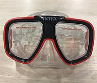 Удобная маска для плавания Intex хорошего качества., фото 1