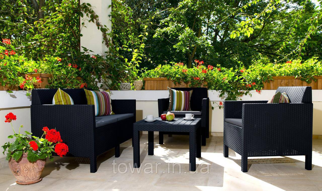 Набор садовой мебели Orlando Set CORFU Curver
