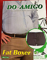 Мужские батальные боксеры стрейч «Amigo» 4XL-6XL