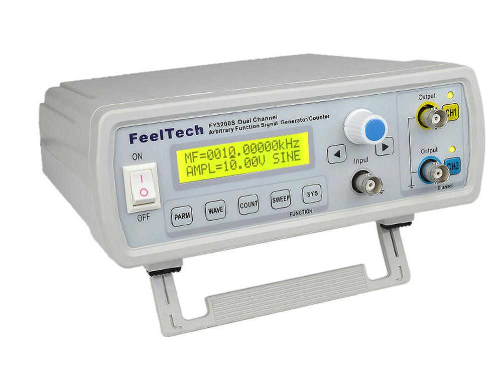Двухканальный цифровой генератор сигналов произвольной формы DDS FeelTech FY3200S