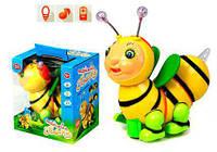 Детская развивающая игрушка - музыкальное животные 0912 Пчела, свет, батар.,звуковые и музыкальные эффекты
