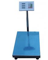Торговые электронные весы ACS 150kg 6V (от 2 шт ЗАКАЗ) усиленная площадка, Платформенные весы, напольные весы