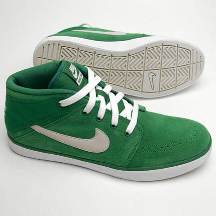 Мужские NIKE SUKETO MID LEATHER GREEN, фото 2
