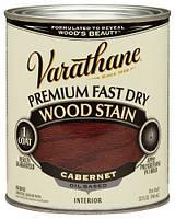 Масляная морилка для дерева, Wood Stain, Cabernet (каберне), 0.946 litre, Varathane