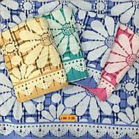 Лен+Махровое лицевое полотенце 50*100