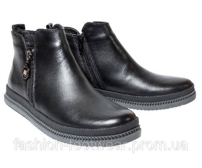 Женские ботинки из натуральной кожи - Интернет-магазин женской обуви  «Fashion Footwear» в 47f52aa57bbe0