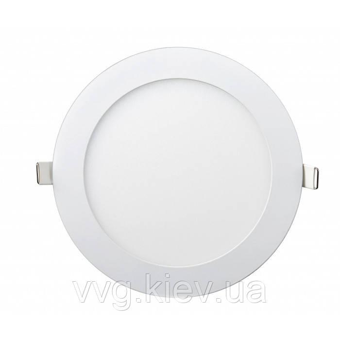 Точечный LED светильник встраиваемый круглый 12W Ø174мм/Ø158мм 4200K 950lm Lezard