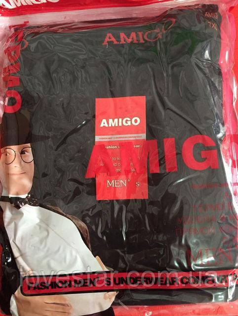 Комплект мужского термобелья: кальсоны и кофта 5XL-7XL батал Amigo