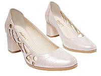 Женские туфли «лодочка» из натуральной кожи