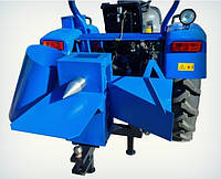 Измельчитель веток + дровокол для трактора (одностороння заточка ножів)