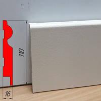 Кремовый высокий плинтус МДФ, высотой 110 мм, 2,8 м Крем, фото 1