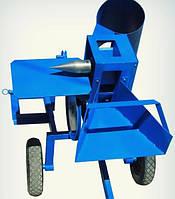 Измельчитель веток для мототрактора + дровокол с конусом 65 мм