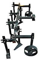 Плоскоріз 2 рядний (с колесами) для мотоблока