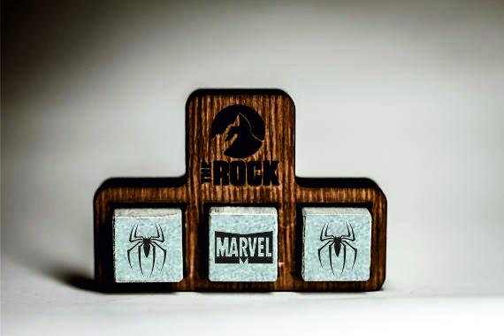 Камни для виски Whiskey stones THEROCK MARVEL Comics Spider-Man