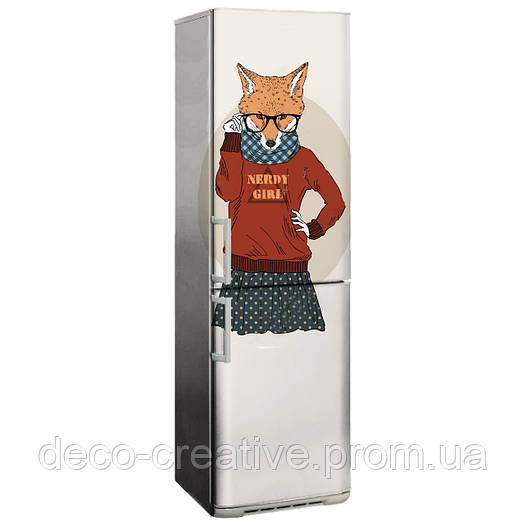 Наклейка на холодильник nk61