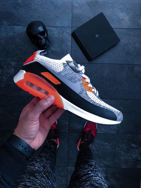 cf6de53b Мужские кроссовки Nike Air Max 90 Flyknit Infrared найк эир цветные, цена 1  450 грн., купить в Киеве — Prom.ua (ID#675493674)