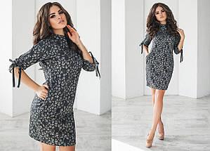 "Теплое шерстяное мини-платье ""OLIO"" с карманами (2 цвета), фото 3"