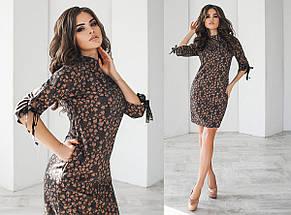 "Теплое шерстяное мини-платье ""OLIO"" с карманами (2 цвета), фото 2"