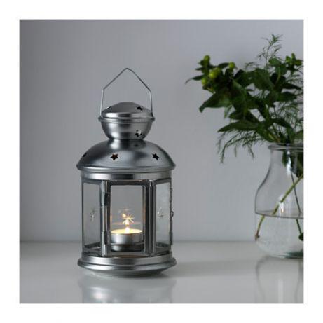Фонарь Икеа для чайной свечи
