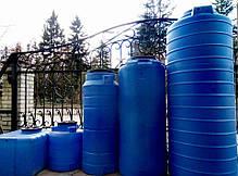 Бак на воду ємність вертикальна Ємкість ОDS-300л Консенсус, фото 2