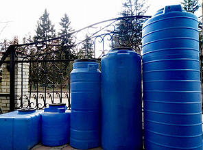 Бак на воду ємність вертикальна Ємкість ОDS-700л Консенсус, фото 2