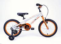 """Детский велосипед 16"""" Apollo Neo boys оранжевый/черный 2018 с дополнительными колесами ТМ Apollo SKD-09-29"""