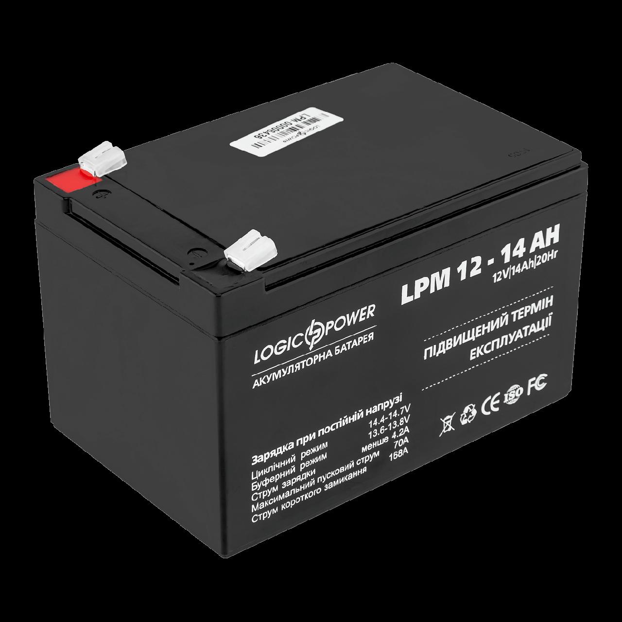 Аккумулятор LPM 12 - 14 AH
