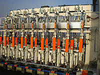 Оборудование для производства стеклотары.