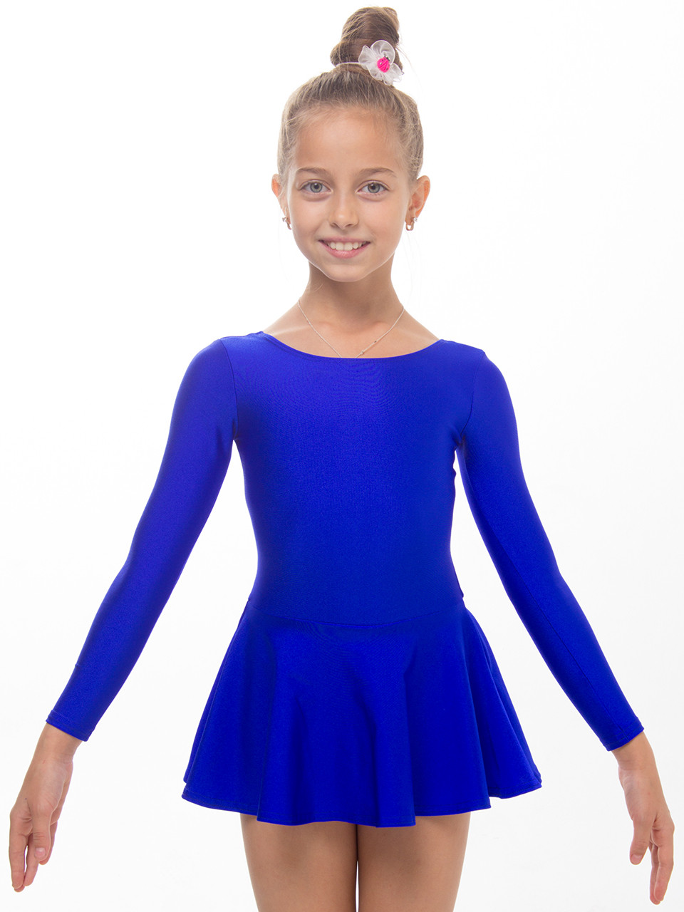 15b33627fb364 Купальники для танцев и гимнастики с юбкой ЭЛЕКТРИК - Интернет-магазин