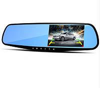 Зеркало видео регистратор Экран 4,3  дюйма  (комплект Без камеры заднего вида и карты памяти)