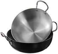 Сковорода WOK (2 шт.) 27 см и 29 см А-Плюс, сковородка вок, фото 1