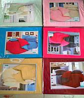 Комплект постельное белье 5D евро в подарочной коробке