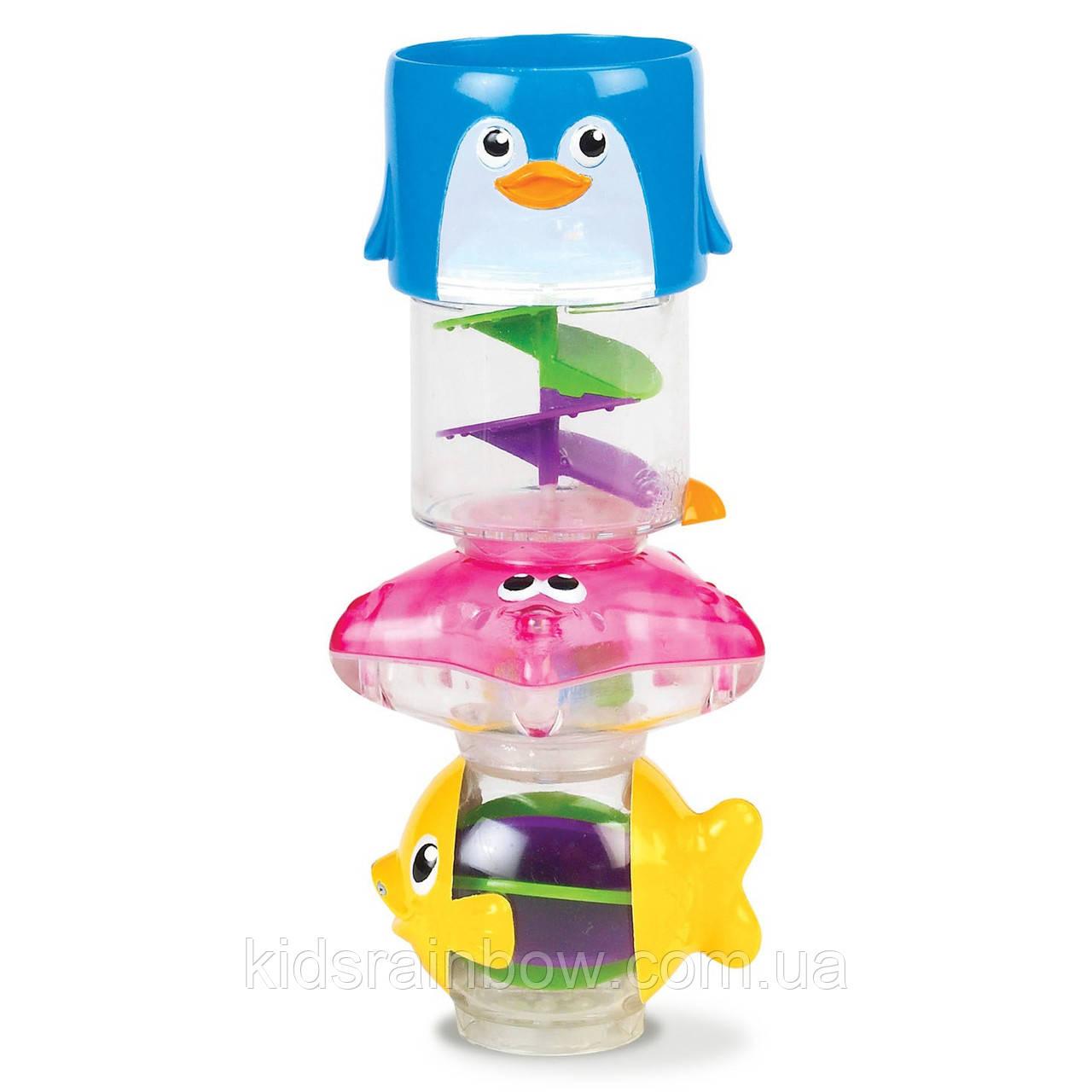 """Munchkin Игрушка для ванной """"Пирамида 3 в 1"""""""