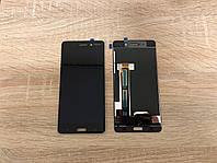 Дисплейный модуль( дисплей с сенсором) Nokia 6 Dual Sim чёрный, Black ,20PLEBW0001 Оригинал!