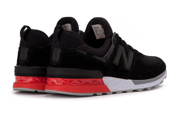 Женские кроссовки NEW BALANCE MS574AB Black Черные, фото 2