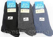 Носки мужские стрейч Легка Хода размер (42-46) темный микс