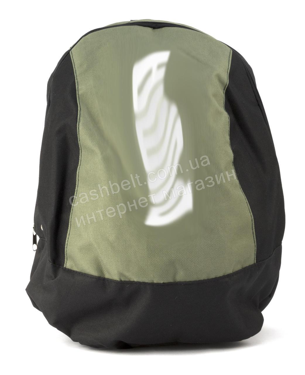 Вместительный качественный спортивный рюкзак Пуман art. 102544 Украина черный/хаки