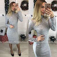 """Платье-гольф из ангоры """"Crystall"""" НОРМА"""
