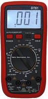 Цифровой мультиметр тестер DT VC 61