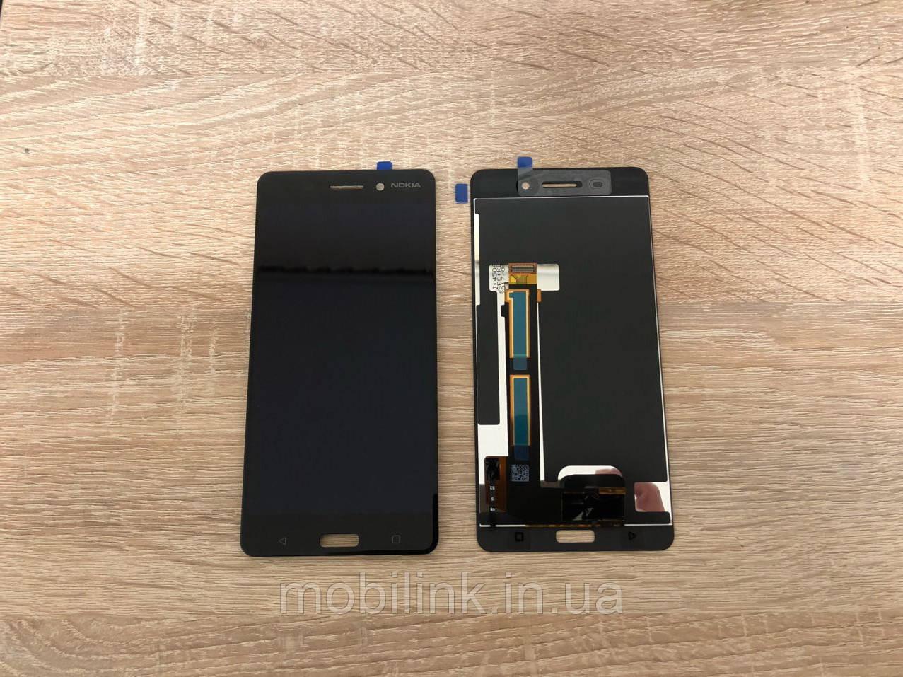 Дисплейный модуль( дисплей с сенсором) Nokia 8 Dual Sim чёрный, Black ,20NB10W0001  Оригинал!