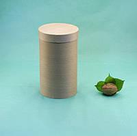 Коробка (тубус) из букового шпона  90х160 с крышкой