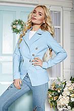 Пиджак двубортный женский
