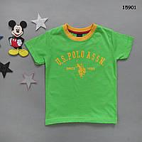 Футболка Polo для мальчика. 3-4;  4-5;  5-6;  7-8;  9-10 лет