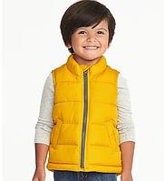 Жилет Old Navy (США) желтый для мальчика