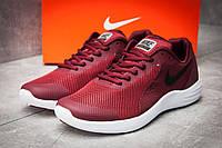 Кроссовки мужские в стиле Nike  Free Run, бордовые (12281),  [   42 43 44  ]