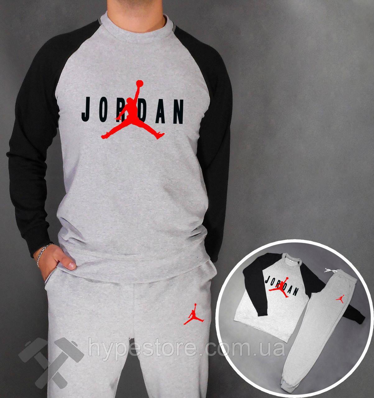 Спортивный костюм, реглан+штаны Jordan, Реплика  продажа, цена в ... 942727210f6