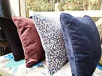 Подушка бархатная, в ассортименте разные цвета, 45х45, фото 1