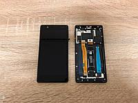 Дисплейный модуль( дисплей с сенсором) Nokia 3 Dual Sim чёрный, Black ,20NE1BW0001,  Оригинал!